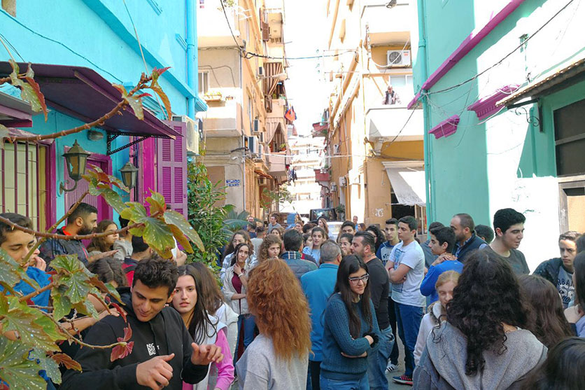 For a Colorful Achrafieh